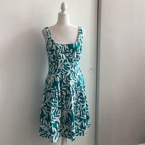 NWT Ralph Lauren floral fit and flare dress